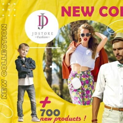 JDStore Fashion - New Collection 2021